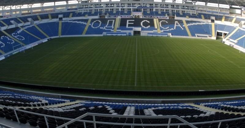 «Черноморец» несможет играть домашние матчи вОдессе из-за качества газона