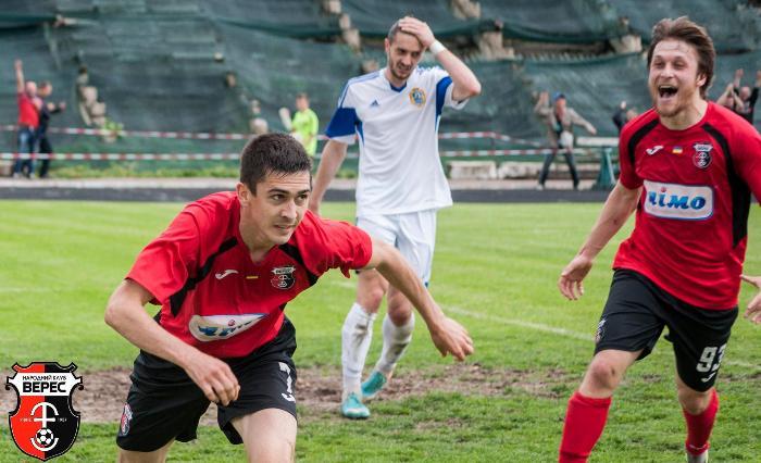 Ростислав Волошинович (слева) и Иван Луканюк добавили Вересу остроты, фото facebook.com/ncvrv