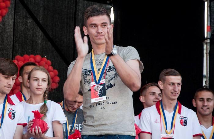 Александр Лакуста оказался единственным в Вересе, сыгравшим больше 20 матчей в сезоне второй лиги, фото facebook.com/ncvrv