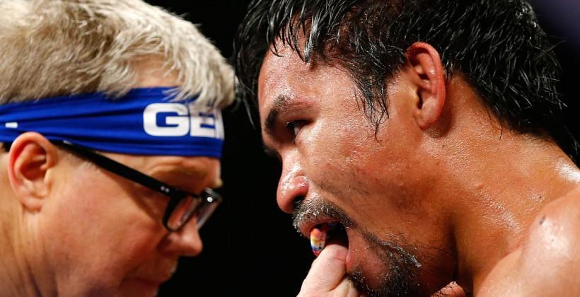 Пакьяо проиграл Хорну вбою затитул чемпиона поверсии WBO