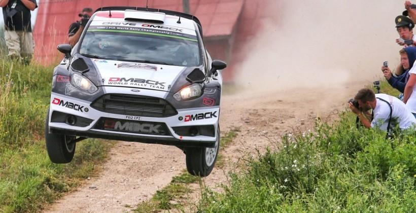 Тянак близок к победе на ралли Польши WRC