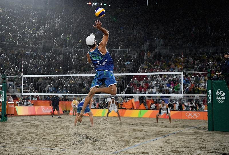 Бразилия — олимпийский чемпион по пляжному волейболу