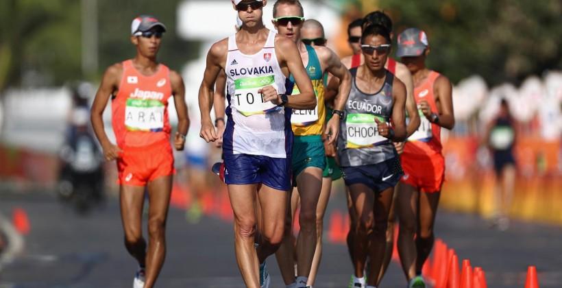 Словак Матей Тот— чемпион Рио-2016 вспортивной ходьбе на50км