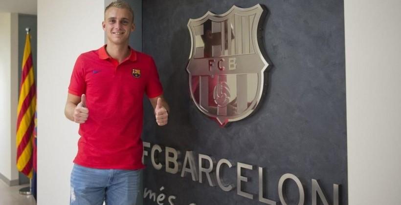 Яспер Силлессен— игрок Барселоны