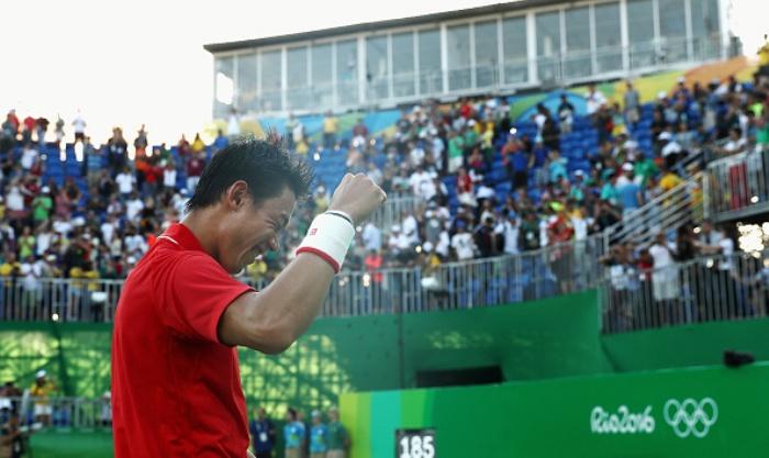 Японский теннисист Кэи Нисикори завоевал бронзовую медаль Олимпийских игр