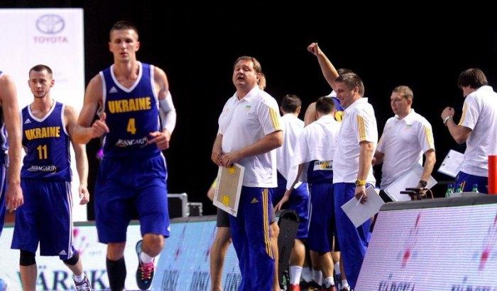 Сборная Украины побаскетболу едва справилась сАлбанией
