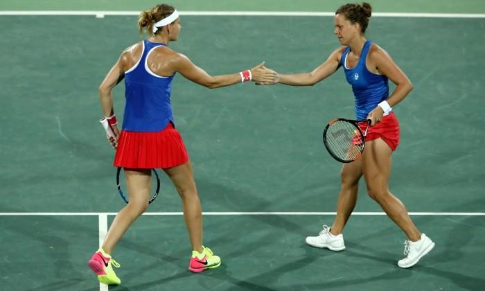 Теннис. Шафаржова и Стрыцова берут бронзу в чешском дерби