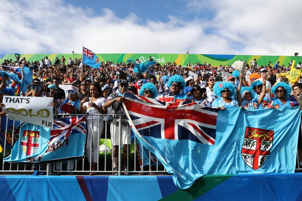 Вболівальники збірної Фіджі в Ріо, Getty Images