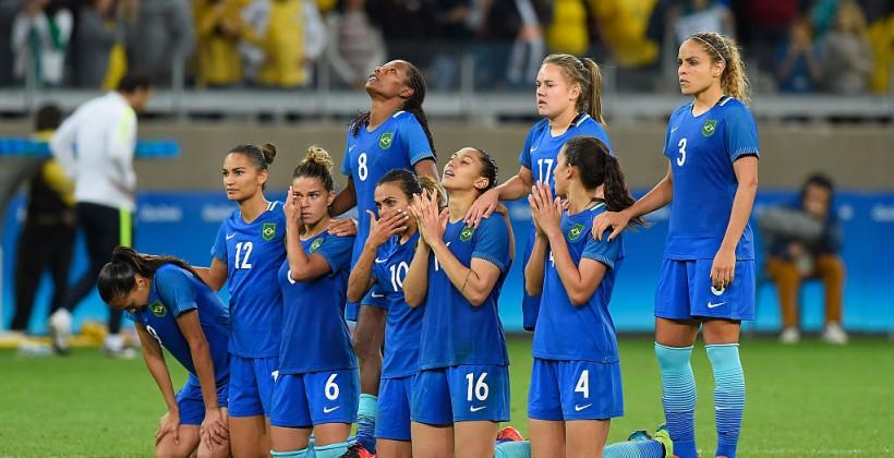 Женская сборная Бразилии обыграла Австралию попенальти ивышла вполуфиналОИ