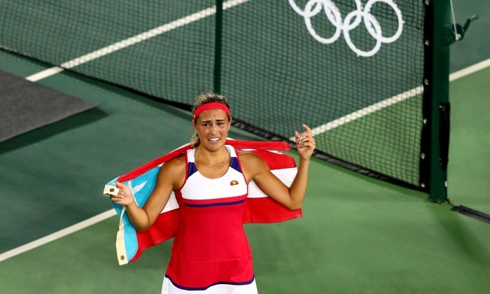 Теннисистка Ангелик Кербер вышла вфинал олимпийского турнира