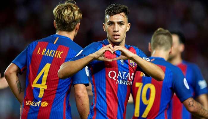 Форвард «Барселоны» Мунир перешел в«Валенсию»