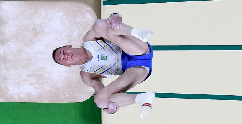 Украинский гимнаст выполнил прыжок, который сейчас назовут его именем,— Жданов