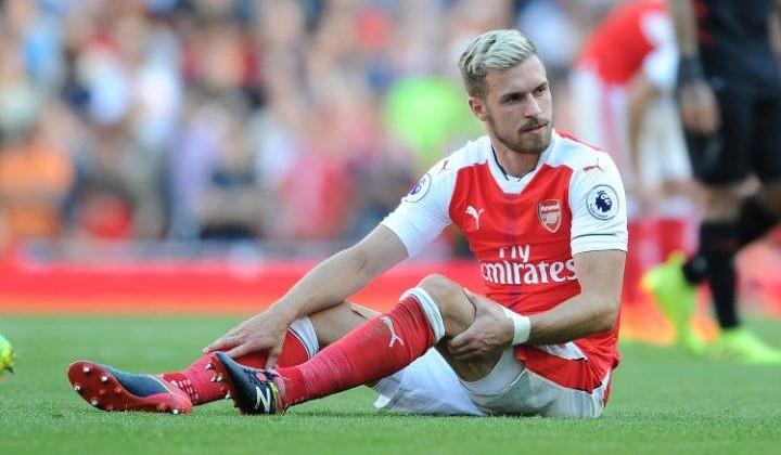 «Арсенал» несможет рассчитывать наРэмси вближайший месяц