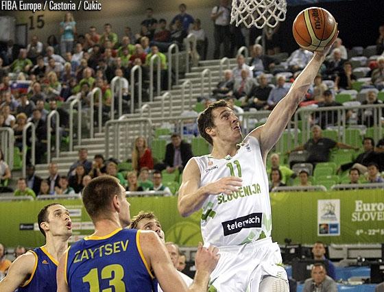 Горан Драгич против Украины на Евробаскете-2013