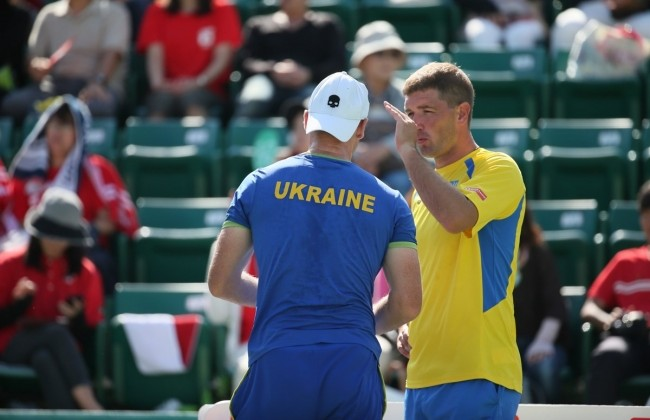 Кубок Дэвиса. Украина уступает Японии по результатам первого дня