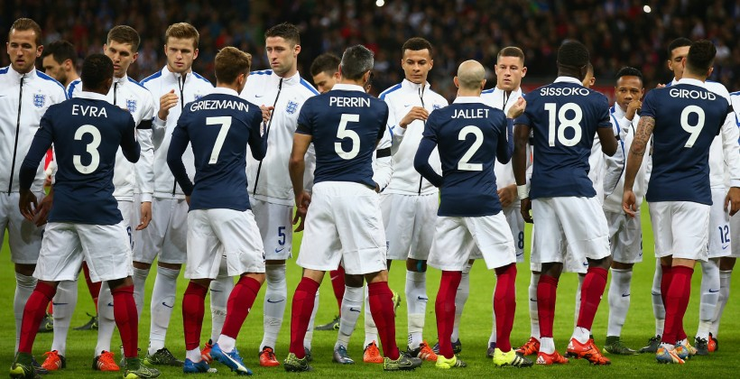 Сборные Франции и Британии проведут товарищеский матч летом 2017 года