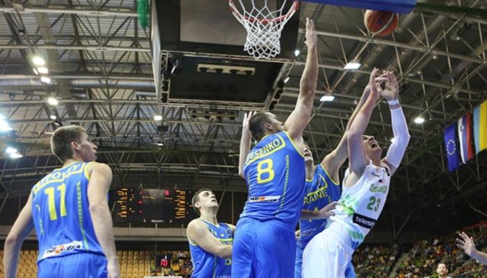 Украина крупно проиграла Словении и рискует не попасть на Евробаскет