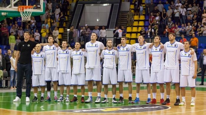 Украина квалифицировалась на Евробаскет-2017