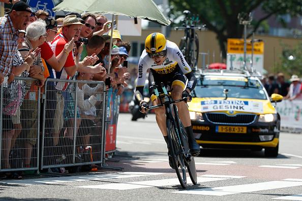 Гонщик «Катюши» Силин стал 3-м на14-м этапе «Вуэльты Испании»