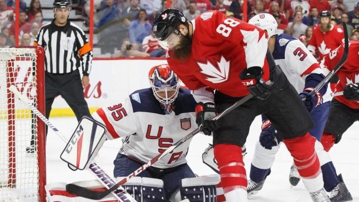 Канада забросила 5 шайб США ввыставочном матче