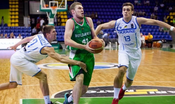 Сборная Украины обыграла Болгарию вотборе наЕвробаскет