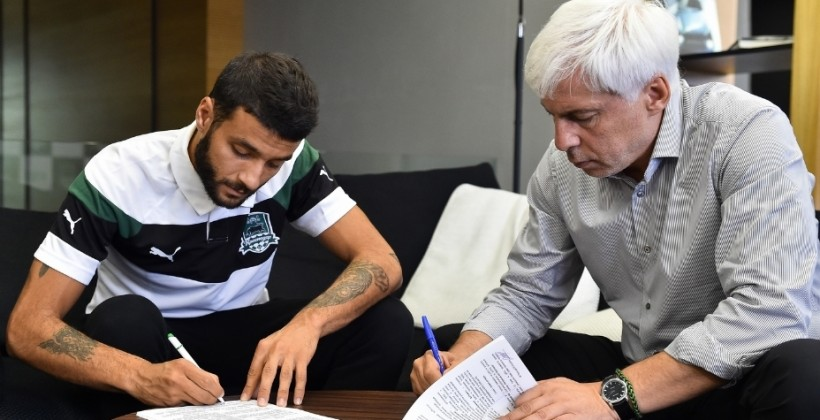 Окриашвили подписал 4-летний договор с«Краснодаром»