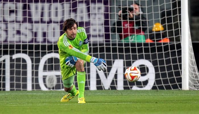 Шовковский стал вторым среди самых возрастных игроков Лиги чемпионов