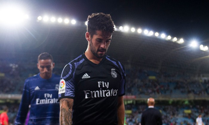 Иско пропустит два ближайших матча «Реала» из-за травмы