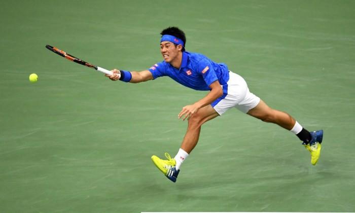 Японец Нисикори обыграл британца Маррея в ¼ финалаUS Open