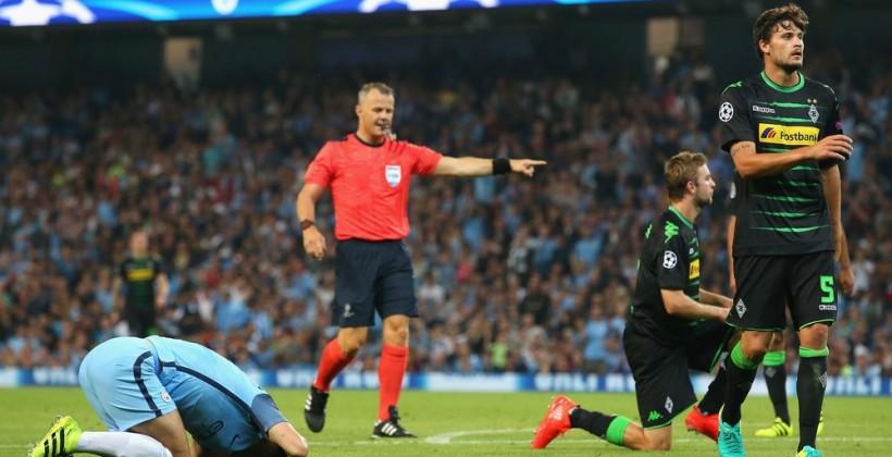 «Манчестер Сити» разгромил «Боруссию» изМенхенгладбаха