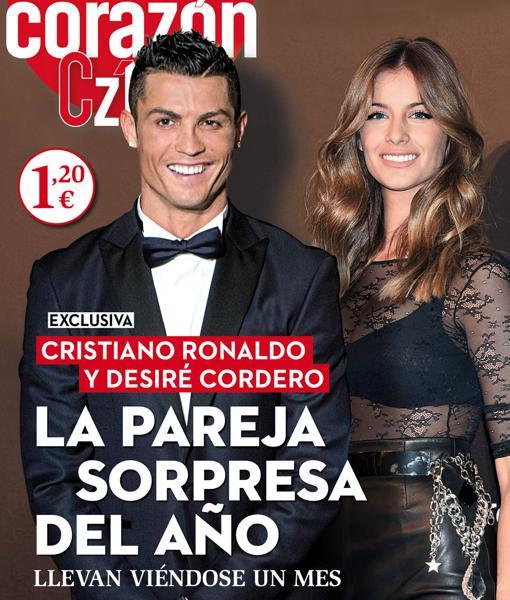 Роналду съехался с«Мисс Испания»