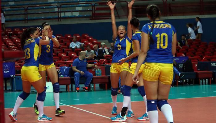 Украинские волейболистки cразгромным счетом одолели Австрию вотборе наЕвро 2017