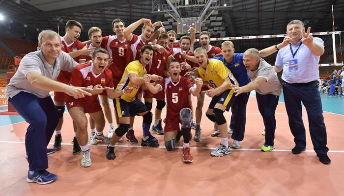 Мужская сборная Украины впервый раз стала серебряным призером Чемпионата Европы поволейболу