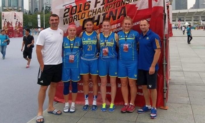 Сегодня женская сборная Украины стартует наЧМ побаскетболу 3х3 в КНР