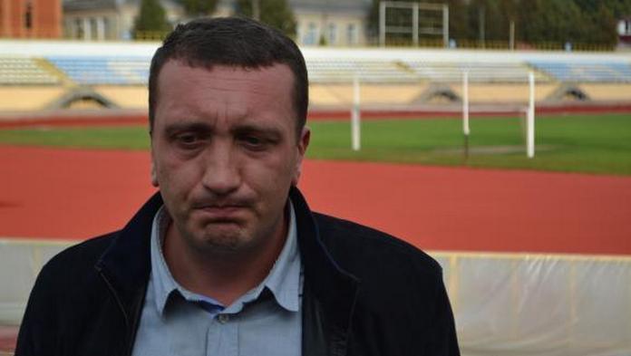 Президент ФК Подолье Евгений Бейдерман дайт интервью Спорт Арене
