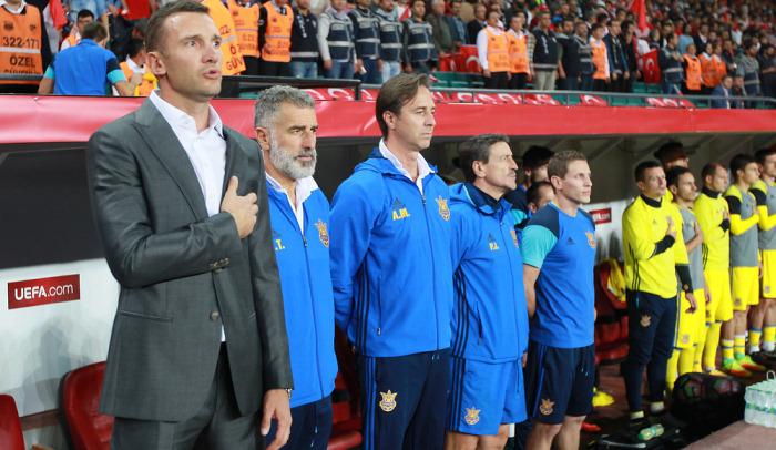 Шевченко добыл первую победу в тренерской карьере