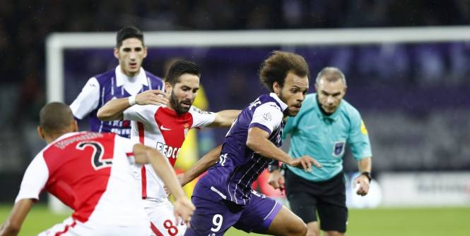 «Тулуза» непустила «Монако» напервое место Лиги 1
