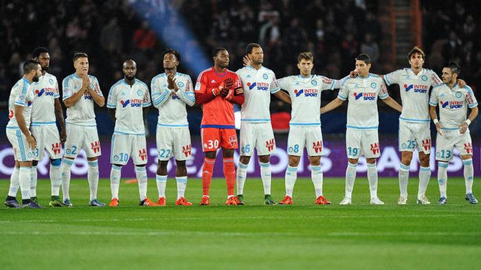 «Марсель» стал лидером поколичеству матчей ввысшем французском дивизионе