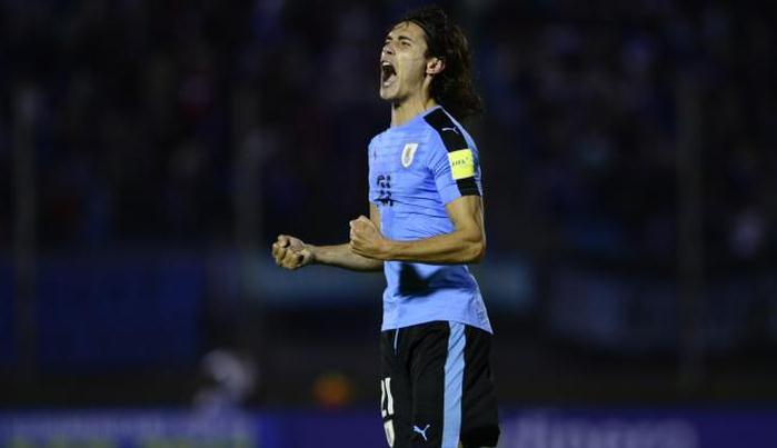Уругвай разгромил Венесуэлу, Кавани оформил дубль