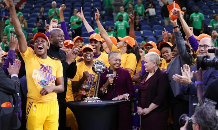 Россиянка Евгения Белякова стала чемпионкой WNBA всоставе «Лос-Анджелеса»