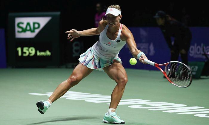 Вфинале наитоговом турнире WTA Анжелик Кербер сразится сДоминикой Цибулковой