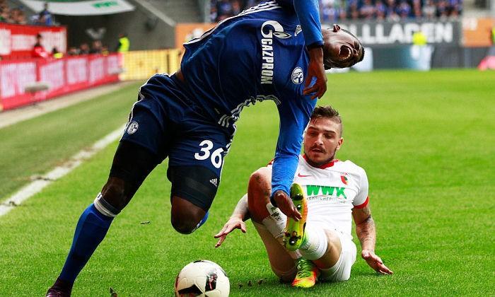 Нападающий «Шальке» Эмболо сломал лодыжку ипропустит матч с«Краснодаром»