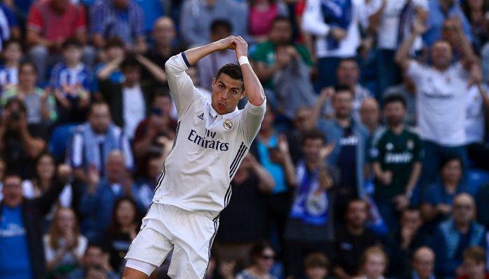 Три мяча Роналду помогли «Реалу» разгромить новичка ЛаЛиги