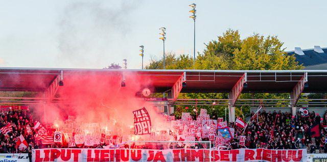 Veikkausliiga-ottelussa HIFK - HJK, Sonera Stadiumilla, 30. syyskuuta 2016.