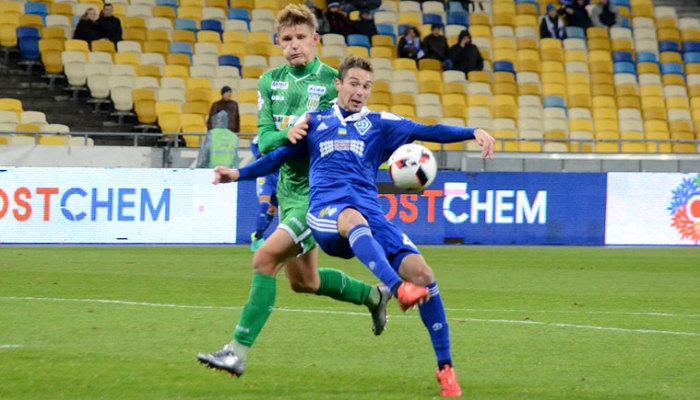 «Динамо» разгромило «Карпаты» вчемпионате Украины