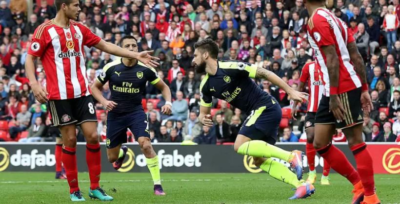 «Арсенал» крупно обыграл «Сандерленд» ивышел влидеры АПЛ