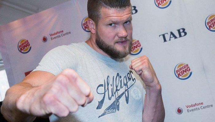 Александр Димитренко подает протест нарезультат боя против Джозефа Паркера