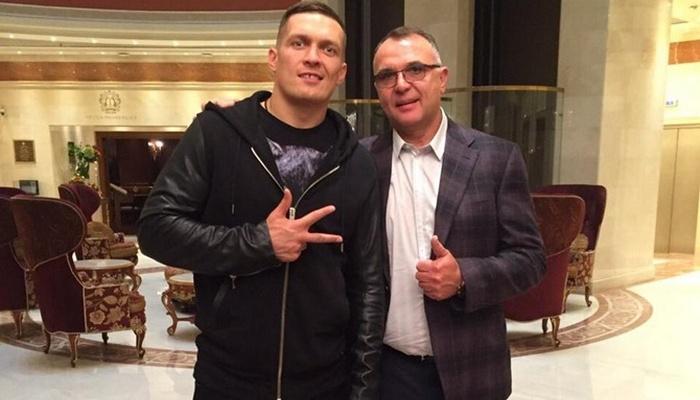 Усик стал клиентом менеджера Ломаченко иГвоздика