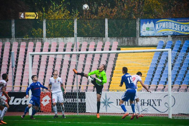 Оба мяча в ворота черкащан влетели из-за пределов штрафной площадки, ckdnipro.com.ua