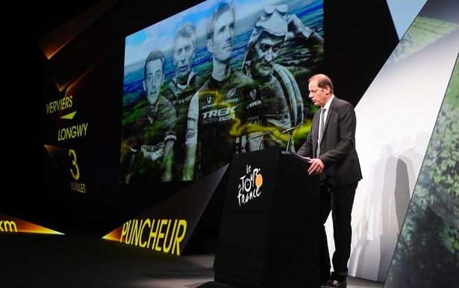 В будущем 2017г Тур деФранс пройдет через 4 государства